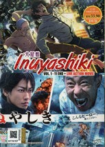 Inuyashiki Vol.1-11 End + Live Action Movie DVD English Subtitle Ship From USA