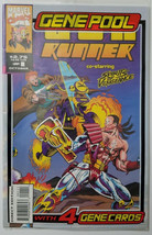 Marvel Comics Book Gun Runner #1 October 1993 Plastic Cover and 4 Gene Cards - $5.93