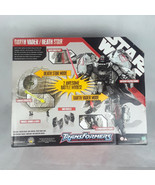 Darth Vader Star Wars Transformer Death Star, Mini Vehicles & Mini Storm... - $102.85
