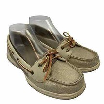 Sperry Top Sider 8.5 US Women Casual Sneakers Shoes Gray Since 1935 Boat Moc - $19.77