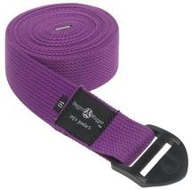 Hugger Mugger Cinch Yoga Strap Purple, 8 ft. - $345,91 MXN