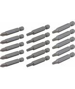 CRAFTSMAN - CMAF122MIX15 - 15-Piece 2-in Steel Hex Shank Screwdriver Bit... - $14.80