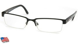 "Burberry B 1156 1001 Black Eyeglasses Frame 52-17-140mm B29mm Italy ""Read"" - $74.20"