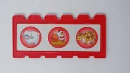 Fisher Price Barnyard Bingo game replacement fence board card red USED - $2.96
