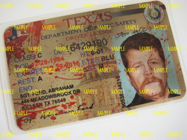 The Walking Dead  Driver's License [ Sgt. Abraham Ford ]  B3G1F - $5.99