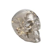 Light Up Glass Skull for Halloween - $20.85