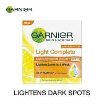 Garnier Skin Naturals, Light Complete Series Fairness Cream 45 gm SP47 - $12.76