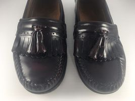 Slip EE Men Loafers 'Jeremy' Dress Bass Shoe GH 5 Burgundy Loafer 9 On US Tassel wvYf4Sq