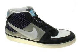 Nike Mens SB Mavrk Mid 2 MID Silv/Wht Skateboarding Shoes 315912-015 Siz... - $38.81