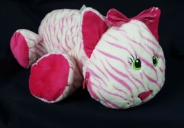 Stuffies Whisper the Cat Plush Pink and White - $9.90