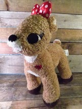"Build A Bear CLARICE Rudolph Reindeer Plush 14"" Stuffed Toy Animal - $9.89"