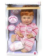 """Irwin Doll Baby So Real In original box 18"""" Ginger Red Head cute - $140.24"""
