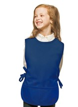 Royal Blue Kids Cobbler Apron with High Quality Poly/Cotton Twill Fabric - $13.09+