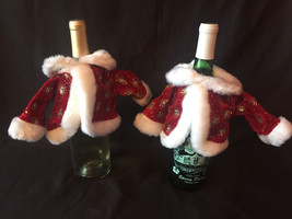 Wine Jackets - Set of 2 - Bottle Cover - Wine Gift Cover -Bottles not in... - $5.90