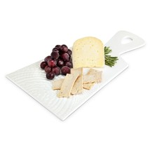 board cheese, Stunning Ceramic Paddle rustic serving elegant cheese boards - $32.99
