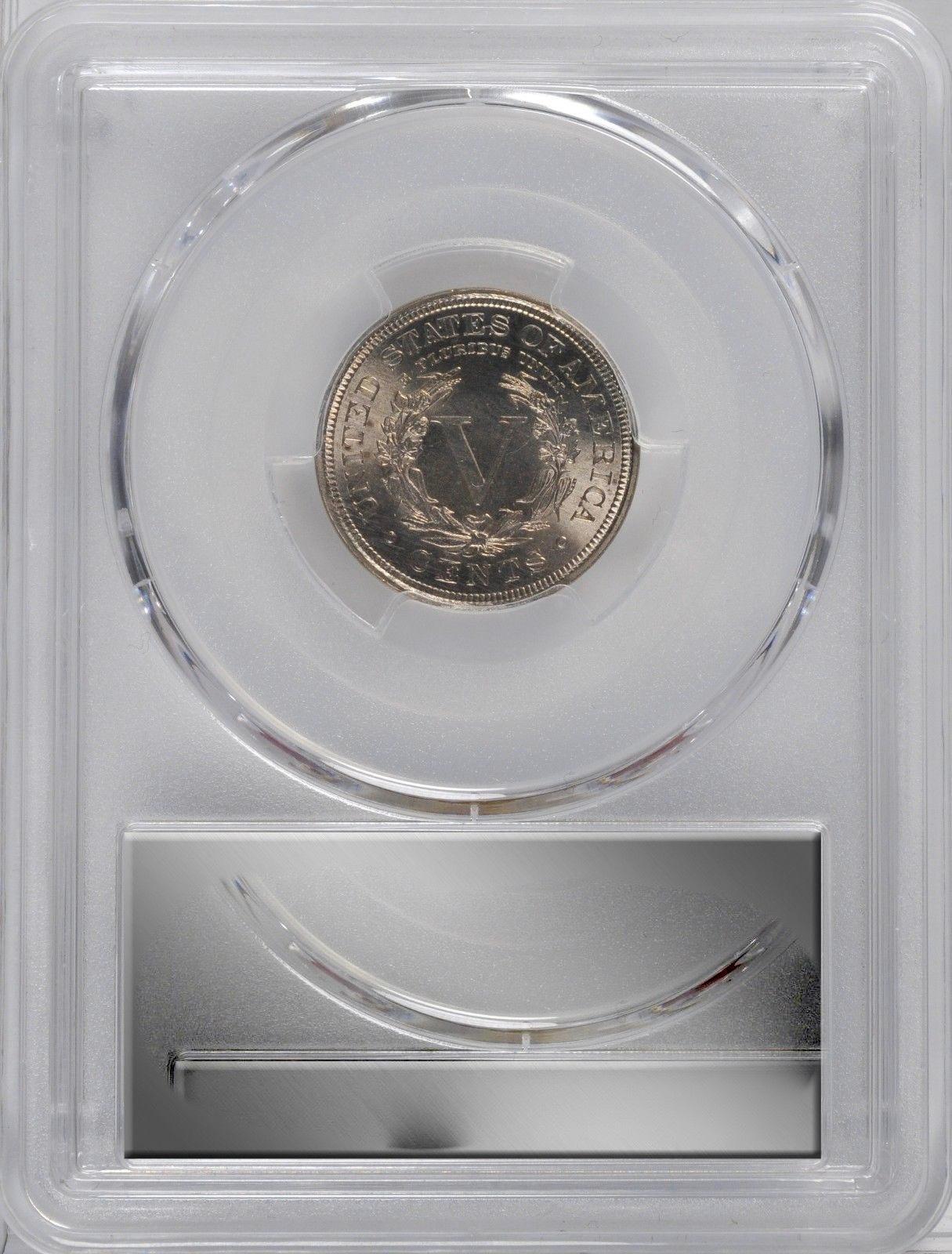 1900 Liberty Head Nickel - PCGS MS-66  - Mint State 66 - V Nickel image 5