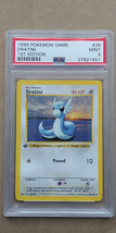 Dratini 26/102 PSA 9 MINT 1999 Pokemon 1st Edition Base Set Shadowless - $54.99