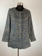 Talbots Womens Coat 10P Petite Multicolor Tweed - $98.99