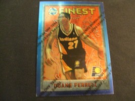 1995-96 Topps Finest w/peel #61 Duane Ferrell-Indiana Pacers- - $3.12
