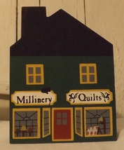 The Cats Meow 1984 Millinery Quilt Shop - $8.99