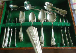 "LIDO 1938 Wm A Rogers Oneida Silverplate Flatware Pieces ""YOUR CHOICE"" No Mono - $2.90+"
