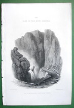 ALPS France Falls of River Romanche near Briancon - SCARCE 1836 Antique ... - $16.20