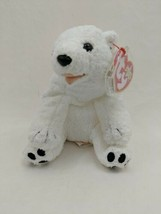 TY Beanie Baby AURORA the Polar Bear 2000 - $5.83