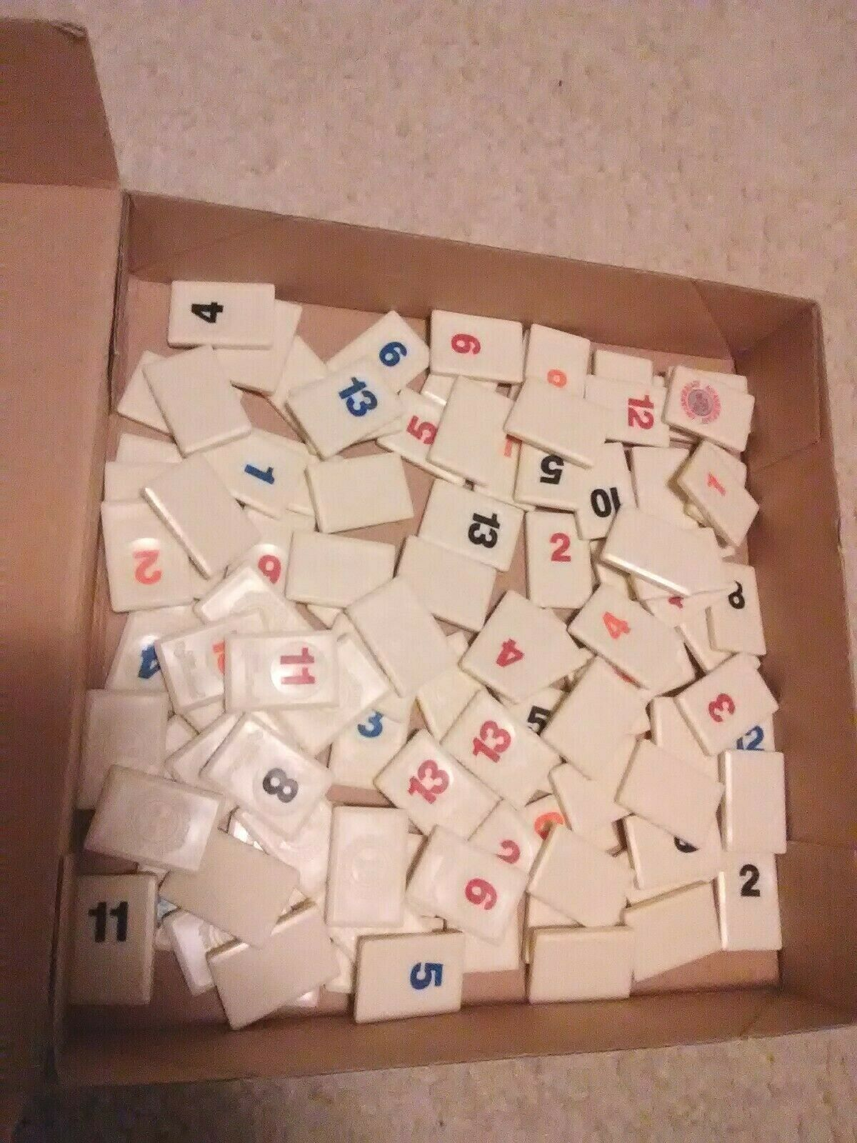 Primary image for The Original Rummikub Replacement Tile 1997 Game Pressman