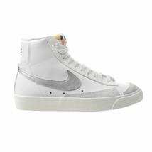 Nike W Blazer Mid '77 Women's Shoes Summer White-Metallic Silver CZ1055-112 - $104.50