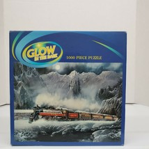 """Puzzle Makers Glow in Dark """"Alberta Bound"""" 1000 PC 20X27"""" Jigsaw Puzzle ... - $16.99"""