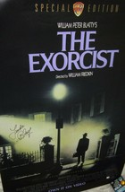 Linda Blair Signed Exorcist Movie Poster - Global Authentics - $124.99