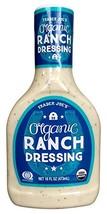 Trader Joes Organic Ranch Dressing 16 Oz