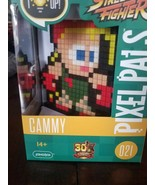 PIXEL PALS Cammy Camcom Street Fighter 30th Anniversary Figure Light Up NEW - $19.48
