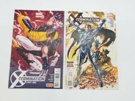 X-Termination Part One & Conclusion Complete Set 1 2 Marvel Comic Book L... - $11.64