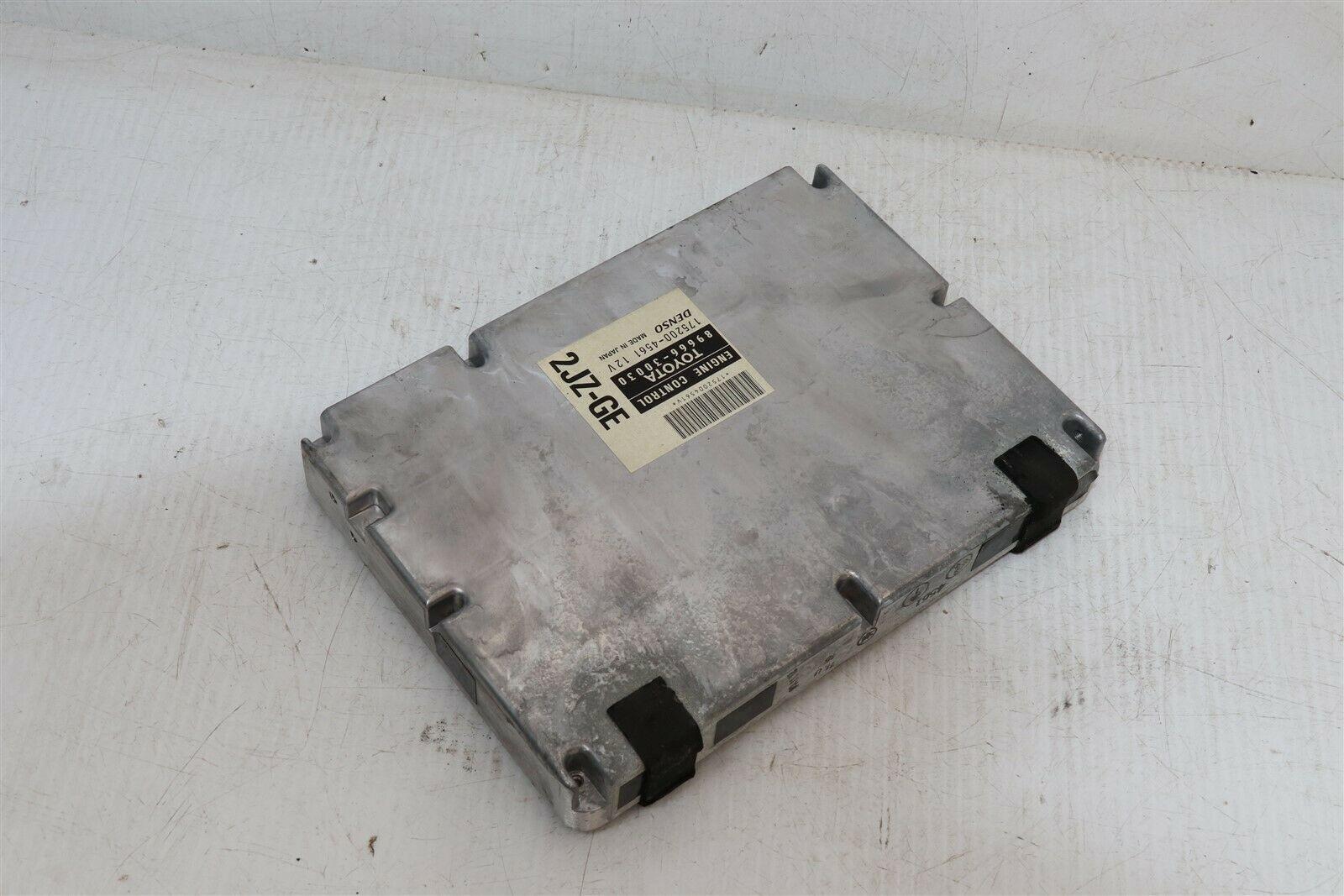 Toyota 2JZ-GE ECM ECU PCM Engine Control Module Computer 89661-30030