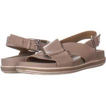 Franco Sarto Cabrini Cross Strap Ankle Strap Sandals, Natural 761, Natur... - $37.43