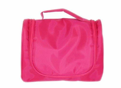 Travel Toiletry Cosmetic Makeup Bag Organizer Rose Red(M086)
