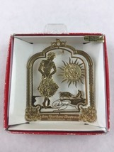 Nations Treasures The Sun Also Rises Ava Gardner Brass Metal Souvenir Ornament - $12.00