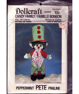 Dollcraft Sew Pattern, Candy Family, Peppermint... - $7.00