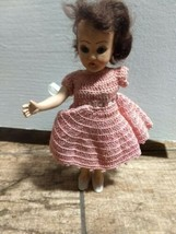 "Vintage Doll Missing One Arm 7 1/2"" Tall  - $4.95"