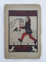 1925 JAN/FEB antique KENSINGTON pa GIRLS HIGH SCHOOL DISTAFF student lit - $38.95