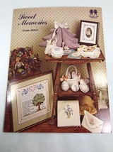 Sweet Memories Cross Stitch Pattern Book by Vanessa-Ann Collection Cross... - $6.92