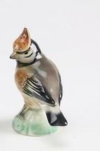 "Rare Vintage Antique Porcelain  4 5/8"" Bird Figurine German Germany - $49.49"