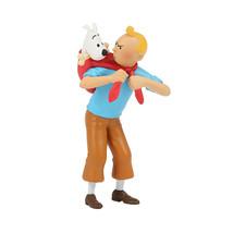 Tintin and Captain Haddock set of 2 plastic figurine image 3