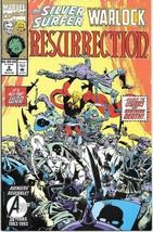 The Silver Surfer/Warlock: Resurrection Comic Book #2 Marvel 1993 NEAR MINT - $3.99