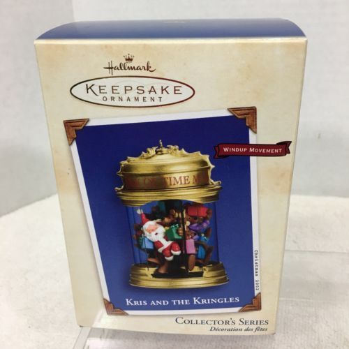 Primary image for 2002 Kris and the Kringles #2 Hallmark Christmas Tree Ornament MIB Price Tag H2