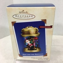 2002 Kris and the Kringles #2 Hallmark Christmas Tree Ornament MIB Price Tag H2 - $28.22