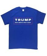 Donald Trump for President Make America Great Again T Shirt-Royal-XXXL - $18.05
