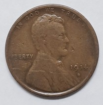 1914D One Cent Lincoln Head Penny Coin Lot# E 89