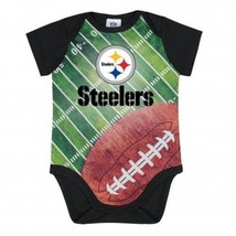 NFL Pittsburgh Steelers Bodysuit Field Design Gerber Infant Select Size - €13,12 EUR